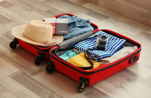 suitcase packing